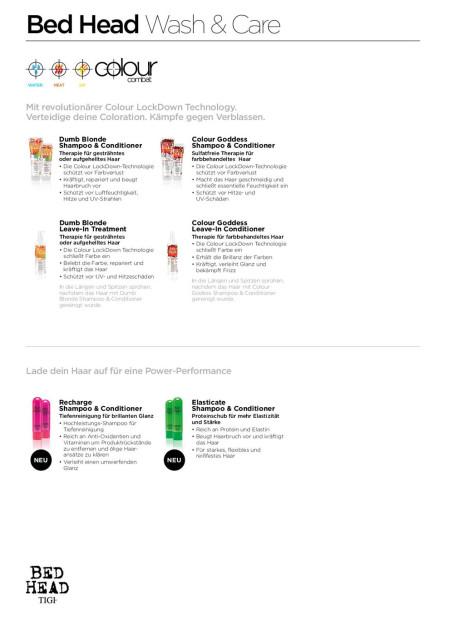 TIGI Produktserie: Bed Head  Wash & Care